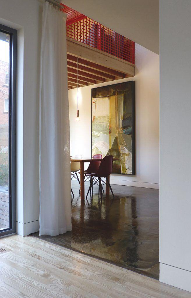 Un bungalow abandonné transformé en maison à deux étages dans Rosemont - Joli Joli Design