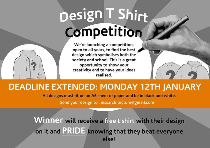 T-shirt design competition 2015 | ARCH-student.com