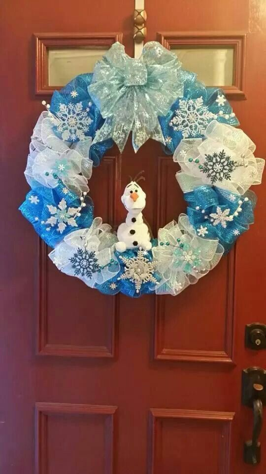 Frozen wreath