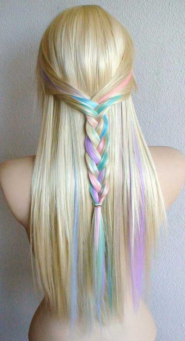 saç tebeşiri hair chalk