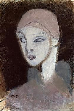 Helene Schjerfbeck Girl from the Islands, 1929
