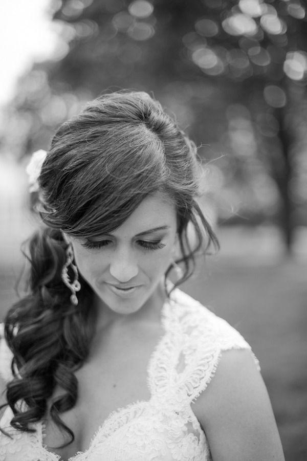 Enjoyable 1000 Ideas About Side Ponytail Curls On Pinterest Engagement Short Hairstyles Gunalazisus