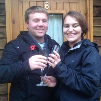 Engaged at the Wigwams