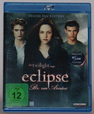Eclipse - Biss zum Abendrot Bluray / Die Twilight Saga Kristen Stewart FSK ab 12