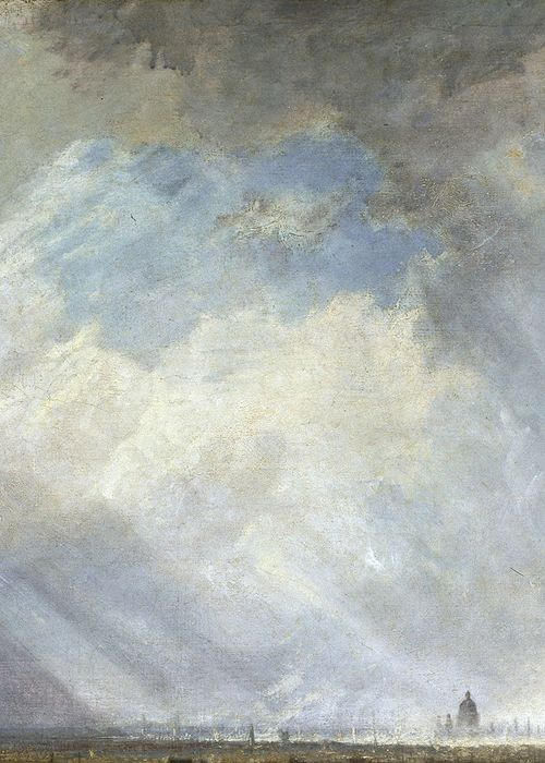 J. M. W. Turner, London from Greenwich Park (detail), exhibited 1809