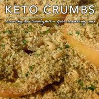 Keto Breading Crumbs – Low Carb Gluten Free Breadcrumb Mix Nutritional Information Per Tablespoon: 17 Calories; 1g Fat (57.7% calories from fat); 2g Protein; 0.25g Carbohydrate; 0.06g Dietary Fiber; 4mg Cholesterol; 0.19g Effective Carbs