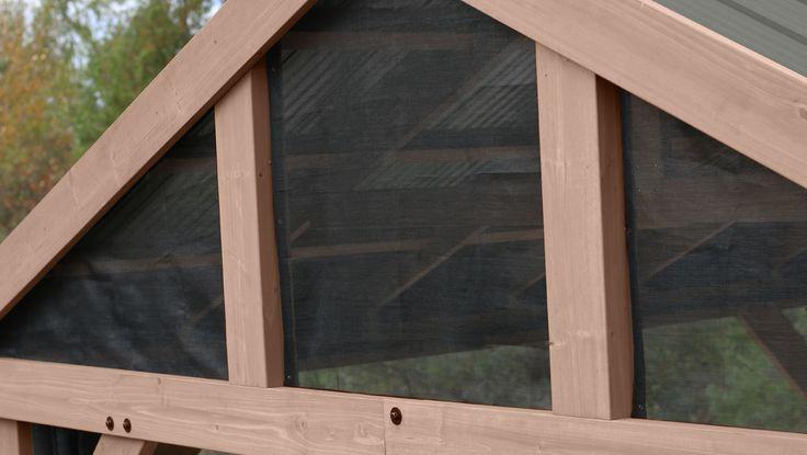 Yardistry Structures in 2020 | Aluminum gazebo, Screen ... on Yardistry Backyard Pavilion id=86235