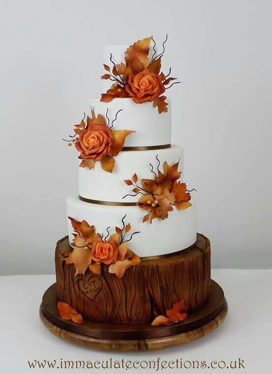 581 Best Autumn Cakes Images On Pinterest Autumn Cake