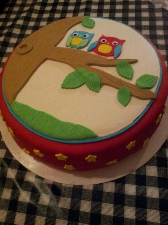 Uilen taart!
