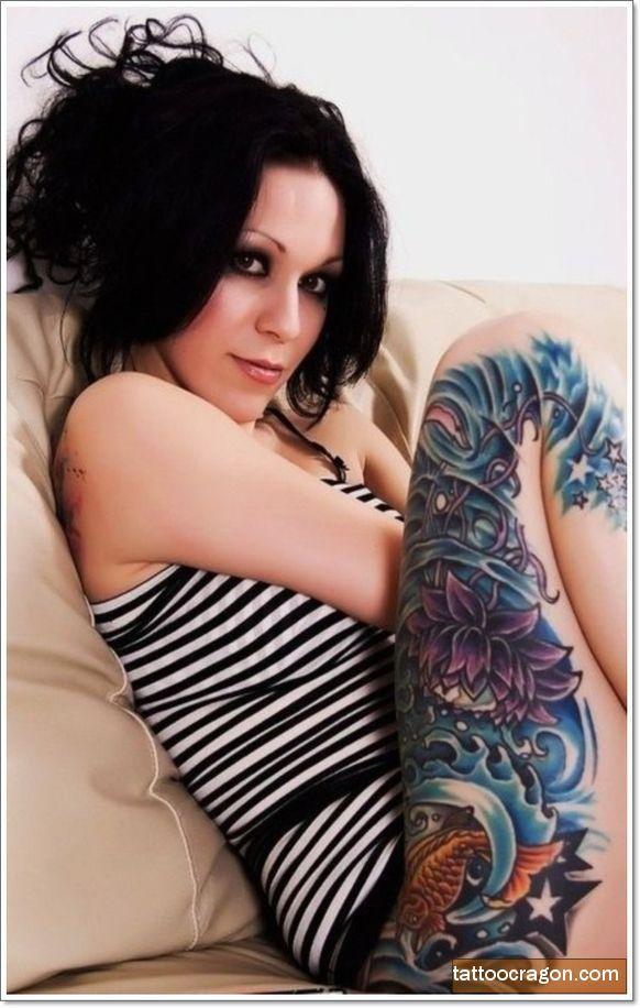 41 Enticing Lotus Blossom Tattoos