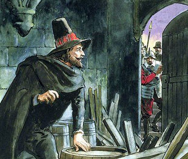 Guy Fawkes foiled!