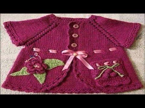 chaleco   chompa niño niña tejidos a crochet - YouTube