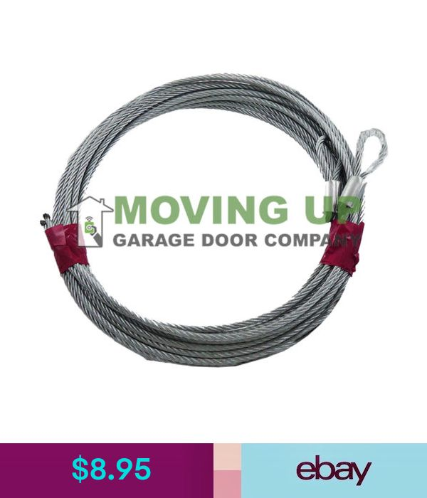 Pair Of Cables For 7' Garage Door Extension
