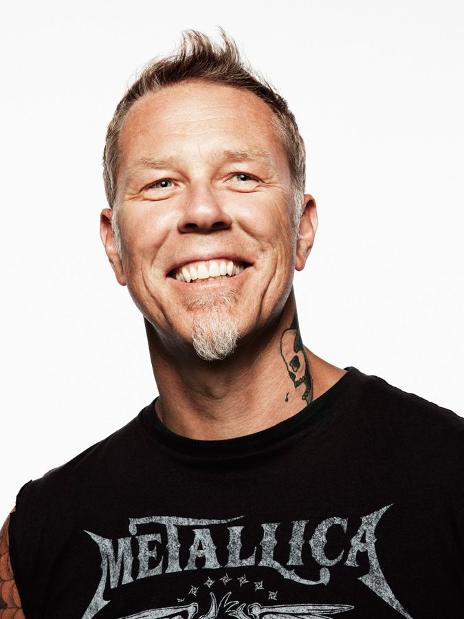 James Hetfield ...smiling, happy, HEALTHY, as powerful a musician as ever (actually better)...inspiring!