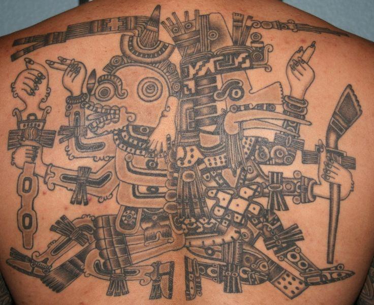 best 25 aztec tribal tattoos ideas on pinterest aztec tattoo designs aztec bodies and samoan. Black Bedroom Furniture Sets. Home Design Ideas
