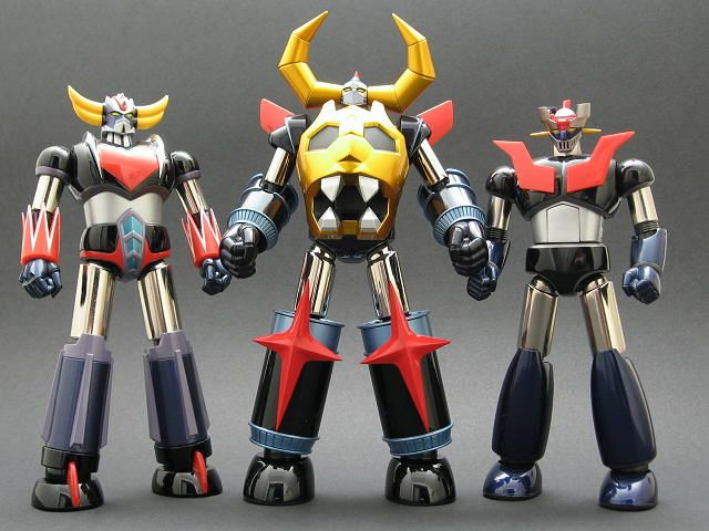 Grendizer, Gaiking and Mazinger Z