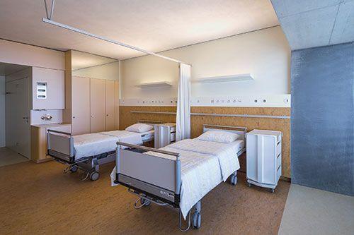 Linear LED modules for hospital room | lighting.eu