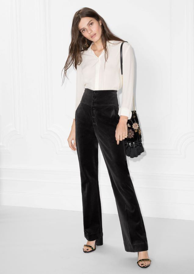 BCBGMAXAZRIA Damen Metallic Knit Turtleneck Hemd, schwarz, X
