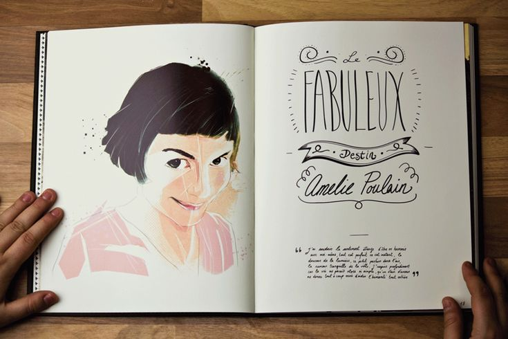 Audrey Tautou, bella!   Illustrations by Marie Bergeron