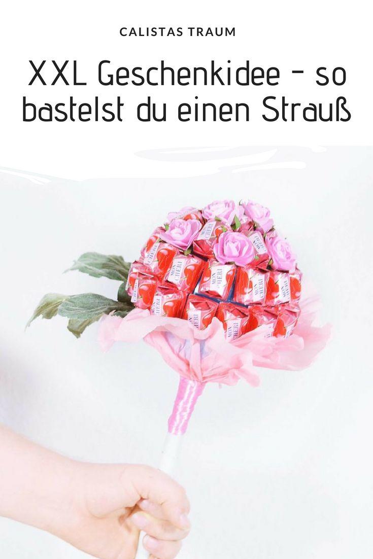 Basteln mit Mon Chéri – Ostergeschenke / Muttertag