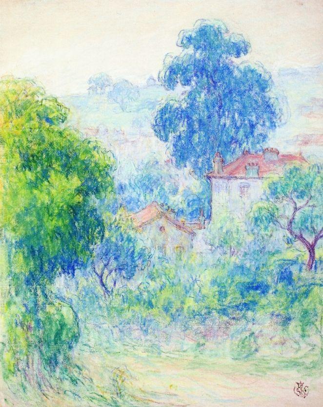 Houses in a Garden  Claude-Emil Schuffenecker