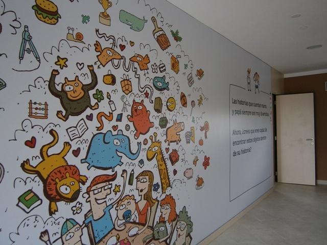 Mural interactivo