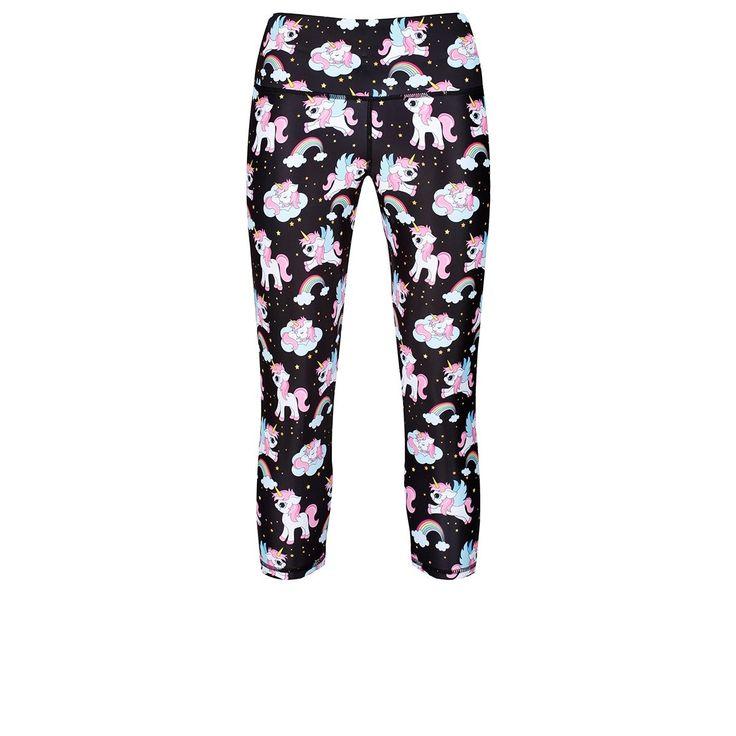 Tikiboo Space Unicorns Capri £33.99 #Activewear #Gymwear #FitnessLeggings #Leggings #Tikiboo #Running #Yoga