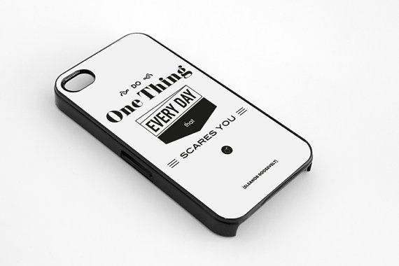 Roosevelt quote iPhone 5  5s case iphone 44s case by MessProject, €13.00  #blackandwhite #wallartdecor #blackandwhite #artprint #inspirationalprint #quote #literary #etsy