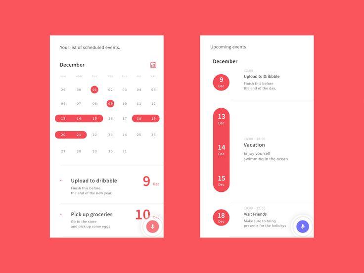 Calendar Design Application : Best calendar ui ideas on pinterest app