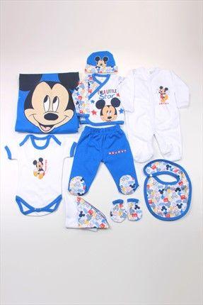 Erkek Bebek Mickey Mouse 10'lu Hastane Çıkışı 4267 DİSNEY | Trendyol