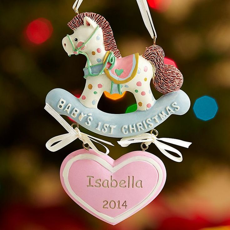 34 best 12 days of christmas images on pinterest 12 days babys 1st christmas rocking horse ornament negle Image collections
