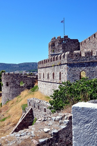 Mytilene Fortress, Lesbos, North Aegean, Greece