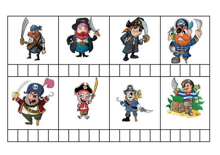 Bingo i comprensió: Els pirates hi ha també les frases al final