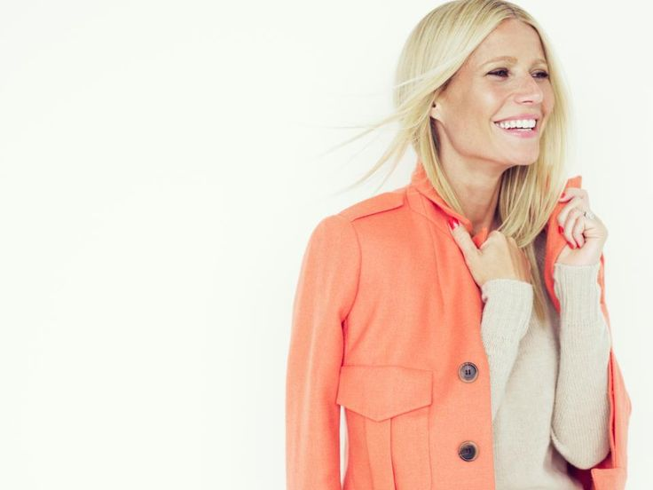 gp: Colors Combos, Gwyneth Paltrow, J Crew, Jcrew, Beautiful People, Peaches, Coats, Style Fashion, Gwynethpaltrow