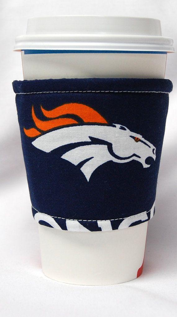 Coffee Cozy, Cup Sleeve,  Eco Friendly,  Slip-on:  NFL Broncos