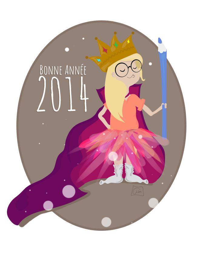 ©angelique-design BD2014 Bonne Année 2014 #illustration #bd #sketch #angie #wip #draw facebook : https://www.facebook.com/pages/Angelique-Design-graphismewebdesign-illustration/389785791066445?ref=hl