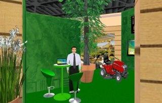 Stand salon 3D Batilogis