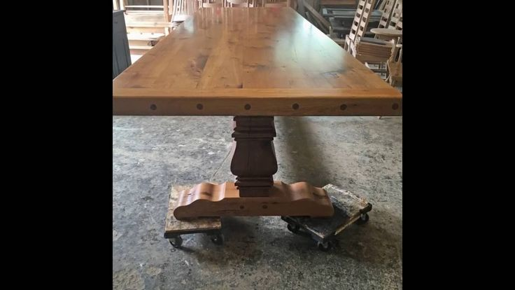 1000 images about farm tables reclaimed barn wood on for Extra long farmhouse table