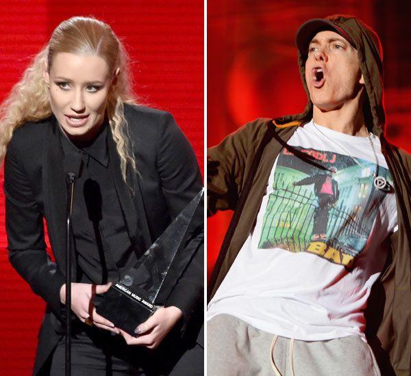 Iggy Azalea Dissed Eminem In Her AMAs Acceptance�Speech