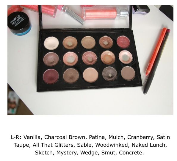 Tanya Burr's personal neutral MAC palette. She's my YouTuber beauty guru!!   Supermodel make-up   Mac makeup looks, Mac makeup, Beauty makeup