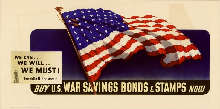 WWII war bond billboard, from a new special exhibit at the US National WWII Museum in New Orleans.