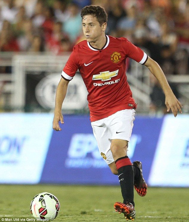 Ander Herrera is a star in the midfield, so talented and technical. #MUFC