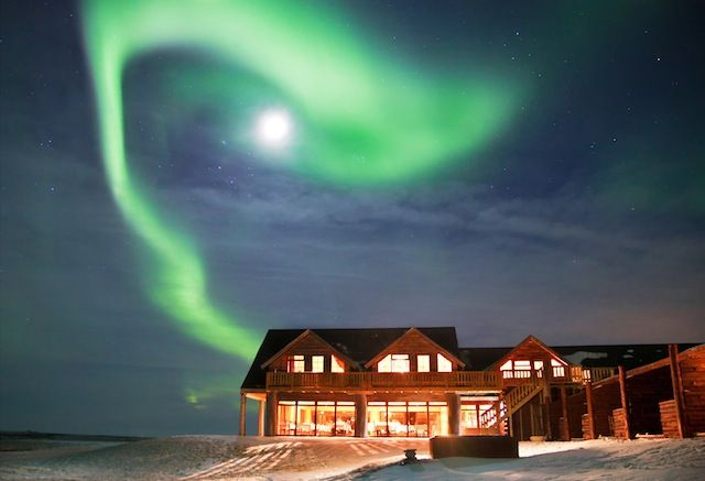 Ranga Hotel is one of the best to view the Northern Lights from.