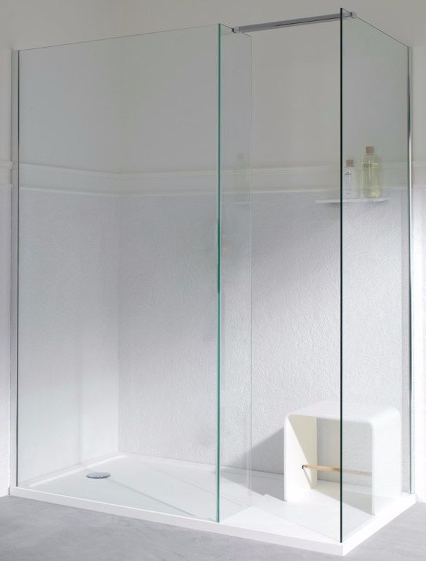 MODUL Tempered #glass #shower cabin with tray by Systempool