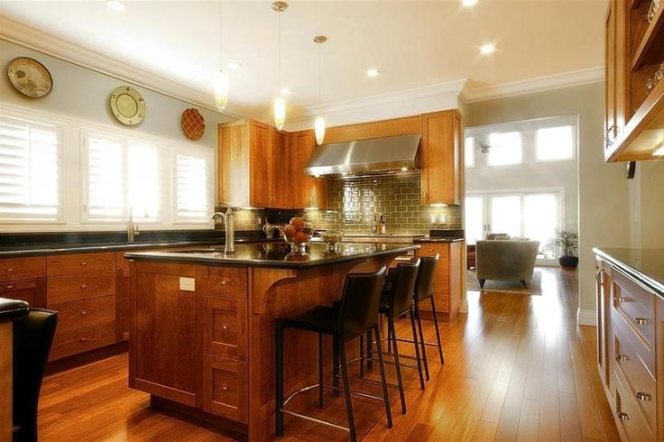 Top 25 ideas about kitchen design on pinterest tropical for Warm kitchen designs