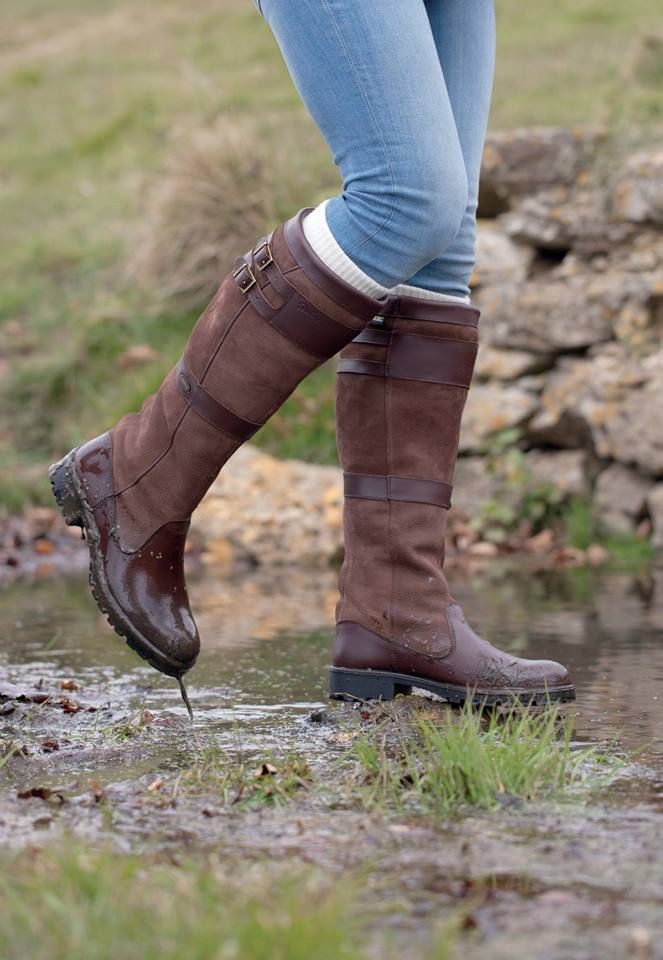 Dubarry Longford Boots in Walnut