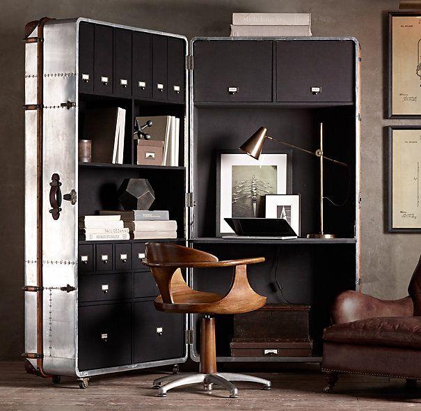 39 Best Trunk Desk Images On Pinterest Woodworking
