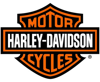 harley logo combination mark
