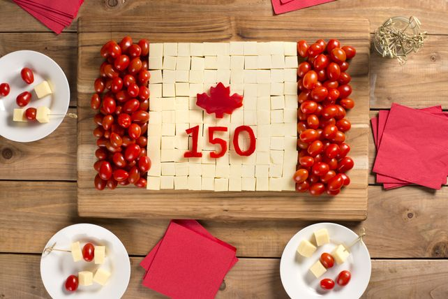 Hosting a party for Canada's birthday? Our Canada Day Cheese Board is just the thing to get the party started! This fun and easy-to-make appetizer is bound to get everyone's attention!