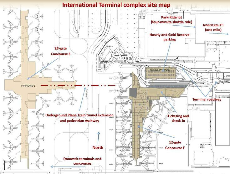 29 Popular Atlanta Airport Concourse Map afputracom